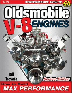 "Oldsmobile V8 Motor, ""How To Build Max Performance"" Håndbog"