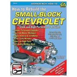 "Chevrolet Small Block Motor, ""Stock & High Performance Rebuilds"" Håndbog"