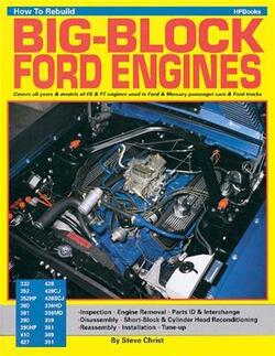 "Ford Big Block FE & FT Motor, ""How To Rebuild"" Håndbog"