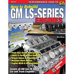 "GM LS Motor, ""How To Rebuild""  Håndbog"