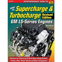"GM LS Motor, ""How To Supercharge & Turbocharge LS Engines""  Håndbog"