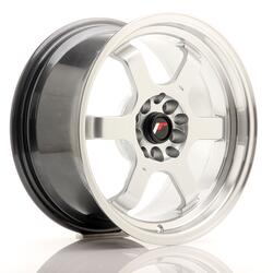 JR Wheels JR12 16x8 ET20 5x100/114,3 Hyper Silver w/Machined Lip