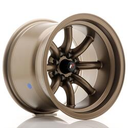 JR Wheels JR19 15x10,5 ET-32 4x100/114 Matt Bronze