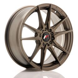 JR Wheels JR21 17x7 ET40 4x100/114 Matt Bronze