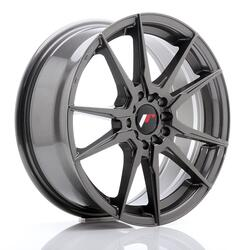 JR Wheels JR21 17x7 ET40 5x100/114 Hyper Gray