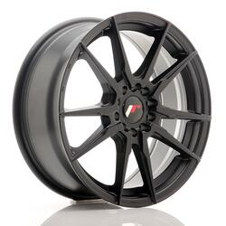 JR Wheels JR21 17x7 ET40 5x108/112 Matt Black