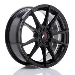 JR Wheels JR21 17x7 ET40 5x108/112 Glossy Black