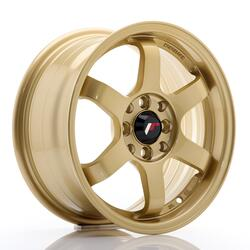 JR Wheels JR3 15x7 ET40 4x100/114 Gold