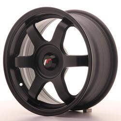 JR Wheels JR3 15x7 ET35-42 BLANK Matt Black