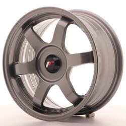 JR Wheels JR3 15x7 ET35-42 BLANK Gun Metal