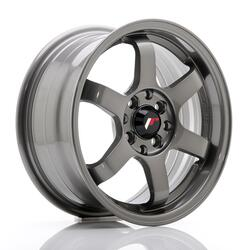 JR Wheels JR3 15x7 ET25 4x100/108 Gun Metal