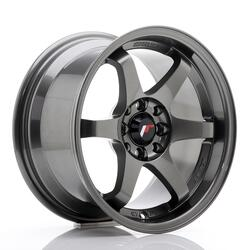 JR Wheels JR3 15x8 ET25 4x100/114 Gun Metal