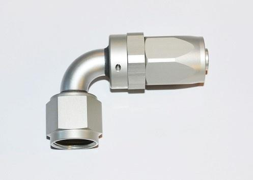 Press / Swivel Fittings 90° AN10