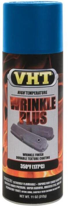 VHT Wrinkle Plus Spray Maling (Rynke Maling) Blå