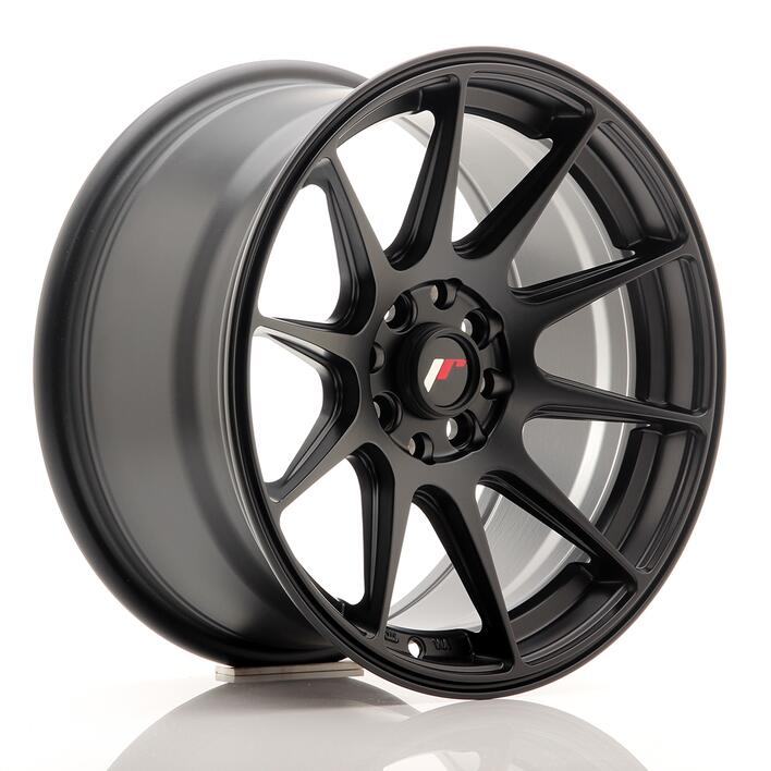JR Wheels JR11 16x8 ET25 4x100/108 Flat Black