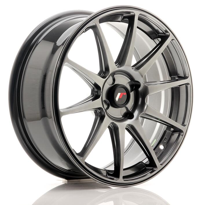 JR Wheels JR11 18x7,5 ET20-40 4H BLANK Dark Hyper Black