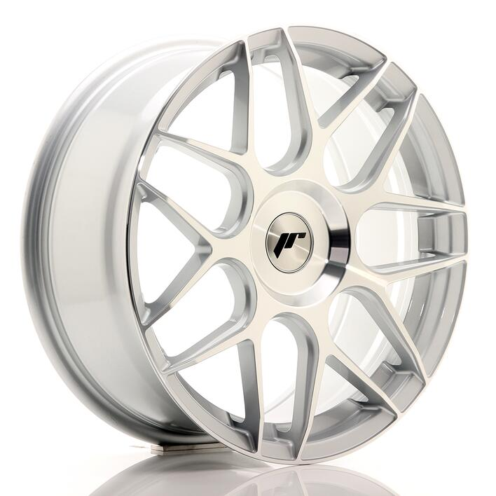 JR Wheels JR18 18x7,5 ET35-40 BLANK Silver Machined Face
