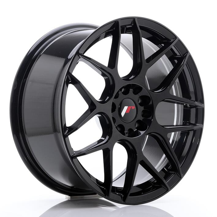 JR Wheels JR18 18x8,5 ET25 5x114/120 Glossy Black