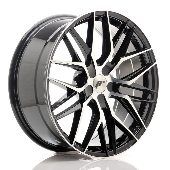 JR Wheels JR28 20x8,5 ET40 5H BLANK Gloss Black Machined Face
