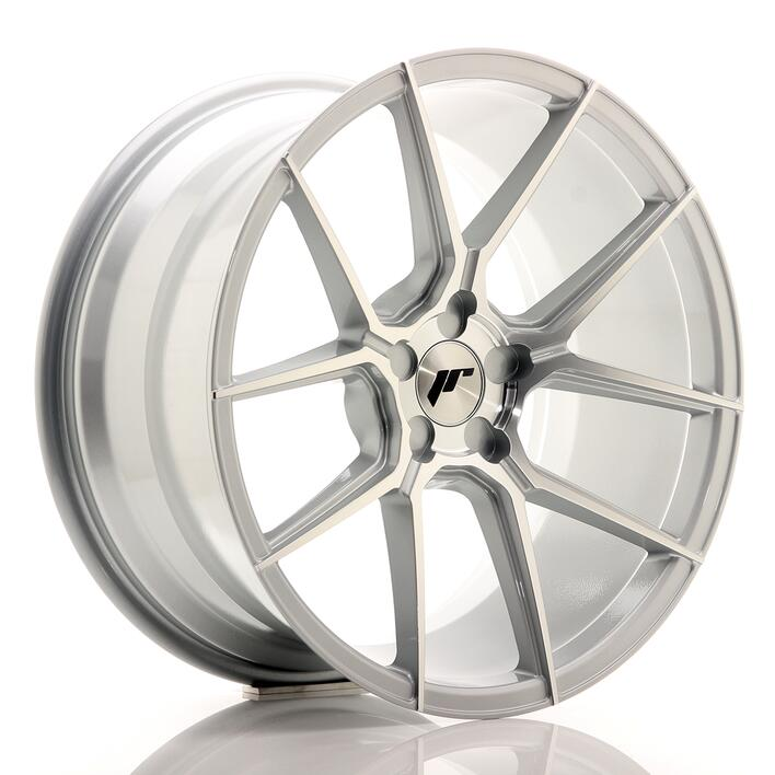 JR Wheels JR30 19x9,5 ET35-40 5H BLANK Silver Machined Face