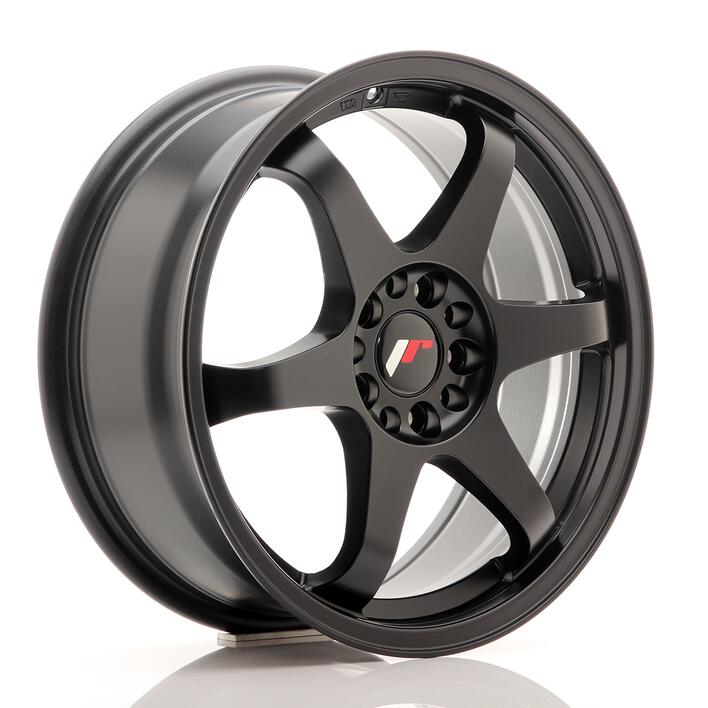 JR Wheels JR3 17x8 ET35 5x108/112 Matt Black