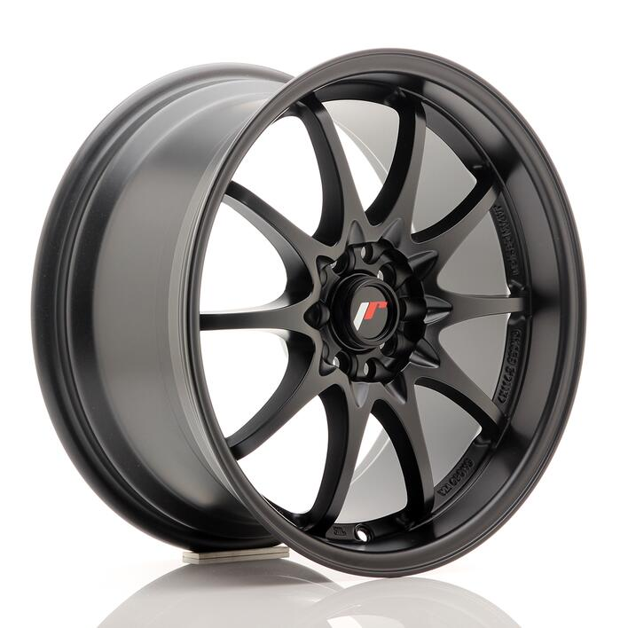 JR Wheels JR5 17x8,5 ET35 4x100/114,3 Matt Black