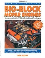 "Mopar Big Block Motor, ""How To Rebuild""  Håndbog"