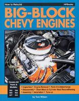 "Chevrolet Big Block Motor, ""How To Rebuild""  Håndbog"