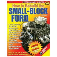 "Ford Small Block Motor, ""How To Rebuild"" Håndbog"