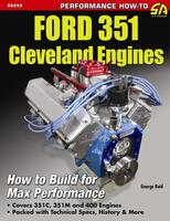 "Ford 351 Cleveland Motor, ""How To Build Max Performace"" Håndbog"
