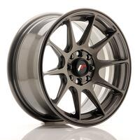 JR Wheels JR11 15x7 ET30 4x100/114 Hyper Gray