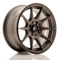 JR Wheels JR11 15x7 ET30 4x100/114 Matt Bronze
