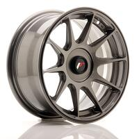 JR Wheels JR11 15x7 ET30 Blank Hyper Gray