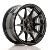 JR Wheels JR11 15x7 ET30 4x100/108  Glossy Black