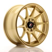 JR Wheels JR11 15x7 ET30 4x100/108 Gold