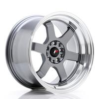 JR Wheels JR12 18x10 ET20 5x114/120 Gun Metal w/Machined Lip