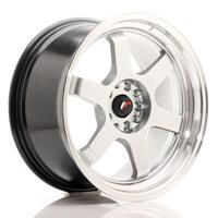 JR Wheels JR12 18x9 ET30 5x112/114,3 Hyper Silver w/Machined Lip