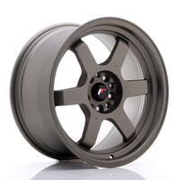JR Wheels JR12 18x9 ET30 5x100/120 Matt Bronze