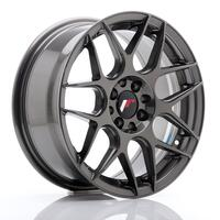 JR Wheels JR18 16x7 ET25 4x100/108 Hyper Gray