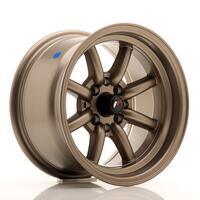 JR Wheels JR19 14x8 ET-13 4x100/114 Matt Bronze