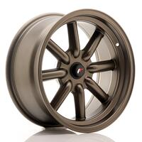 JR Wheels JR19 17x8 ET-20-0 BLANK Matt Bronze