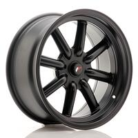 JR Wheels JR19 17x8 ET-20-0 BLANK Matt Black