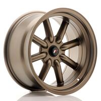 JR Wheels JR19 17x9 ET-25-(-10) BLANK MatBronze