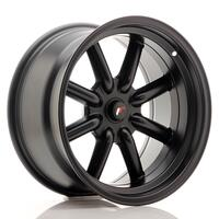 JR Wheels JR19 17x9 ET-25-(-10) BLANK Matt Black