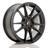 JR Wheels JR21 17x7 ET40 4x100/114 Matt Black