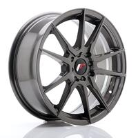 JR Wheels JR21 17x7 ET40 4x100/114 Hyper Gray