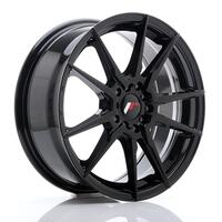JR Wheels JR21 17x7 ET40 5x100/114 Glossy Black
