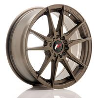 JR Wheels JR21 17x7 ET40 5x100/114 Matt Bronze