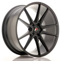 JR Wheels JR21 22x9 ET30-45 5H BLANK Matt Black