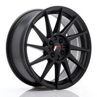 JR Wheels JR22 17x7 ET35 4x100/114 Matt Black